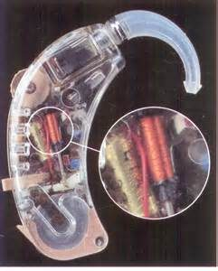 Size of t-coil within a hearing aid